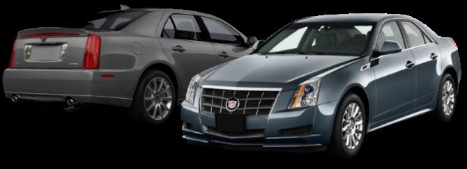 Отчет по установке прямоточных глушителей на Cadillac STS