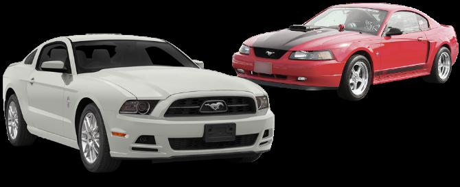 Ford Mustang: разводка выхлопа и установка прямоточных глушителей с насадками