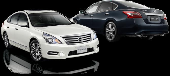 Отчет по установке насадок на Nissan Teana