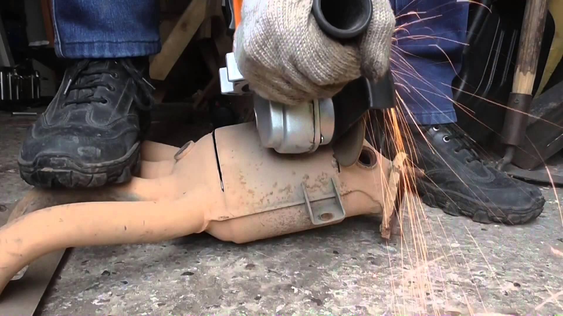 последствия пробивки катализатора на форд мондео3 автомобиле #5